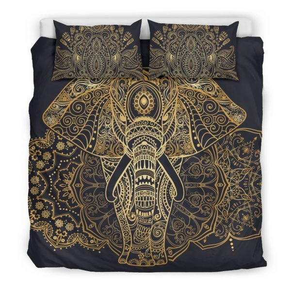 [Top-selling] elephant of enlightenment all over printed bedding set - maria