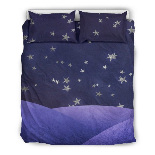 [Top-selling] fantasy night sky all over printed bedding set - maria