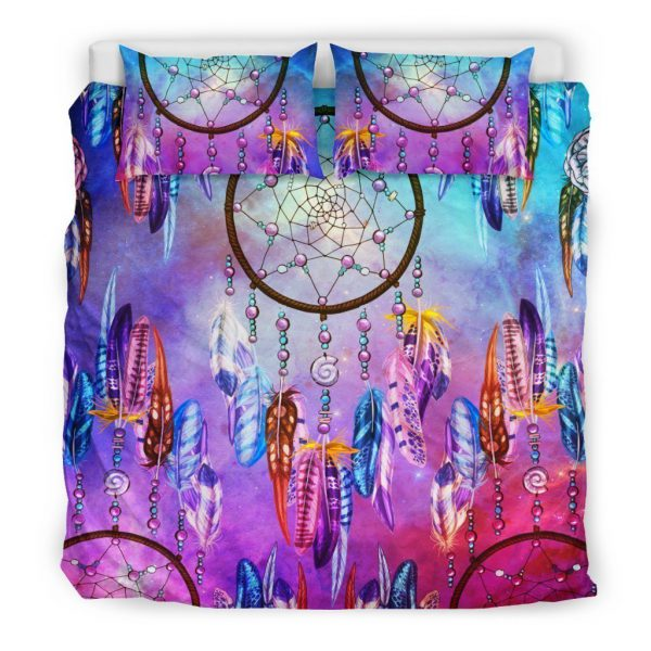 [Top-selling] keeper of dreams dreamcatcher all over printed bedding set - maria