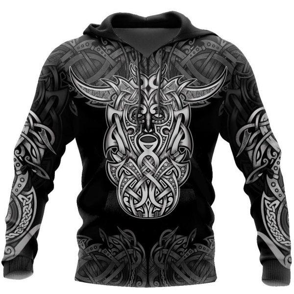[Top-selling] loki godmas vikings tattoo all over printed shirt - maria