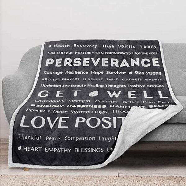 [Top-selling] love positive energy healing get will full printing blanket - maria