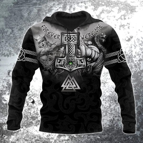 [Top-selling] viking hammer of thor all over printed shirt - maria