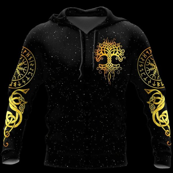 [Top-selling] viking tree of life all over printed shirt - maria
