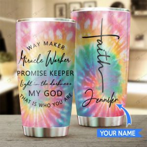 Faith Personalized Custom Name Tumbler