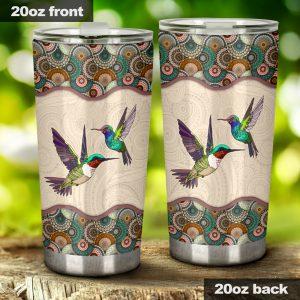 Hummingbird love like tumbler