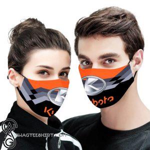 Kubota logo full printing face mask