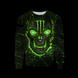 Monster energy lava skull full over print