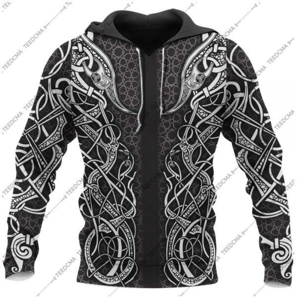[Top-selling] freya viking all over printed shirt - maria