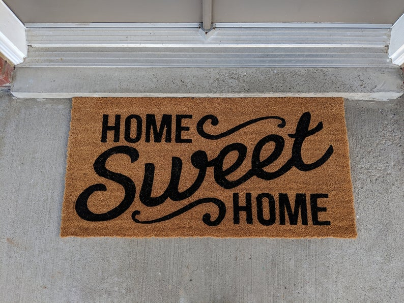 [special edition] home sweet home all over print doormat - maria