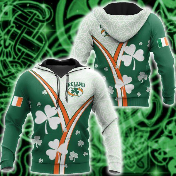 [Top-selling] saint patricks day ireland flag full printing shirt - maria