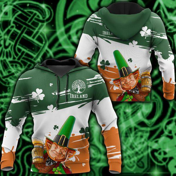 [Top-selling] saint patricks day ireland leprechauns full printing shirt - maria
