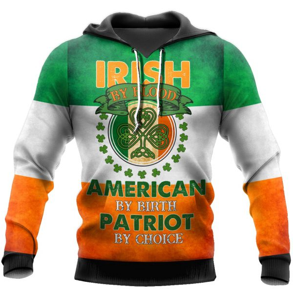 [Top-selling] st patricks day flag of Ireland full printing shirt - maria