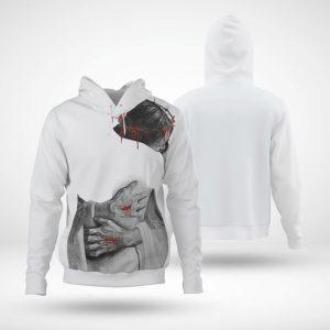 Easter Jesus Huggle 3D All Over Printed hoodie