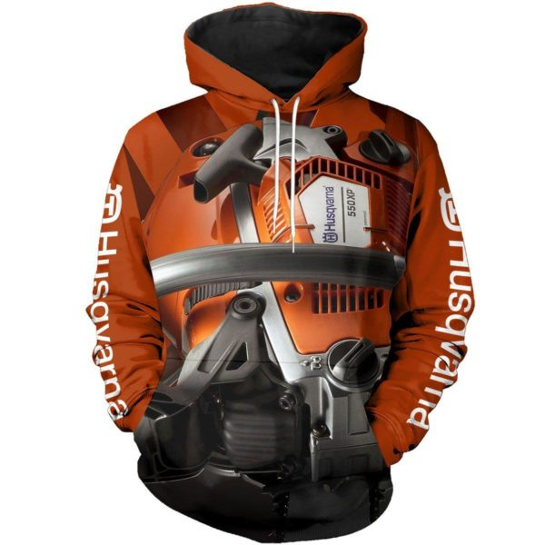 [Top-selling] Husqvarna chainsaw 3d all-over t-shirt and 3d hoodie - maria