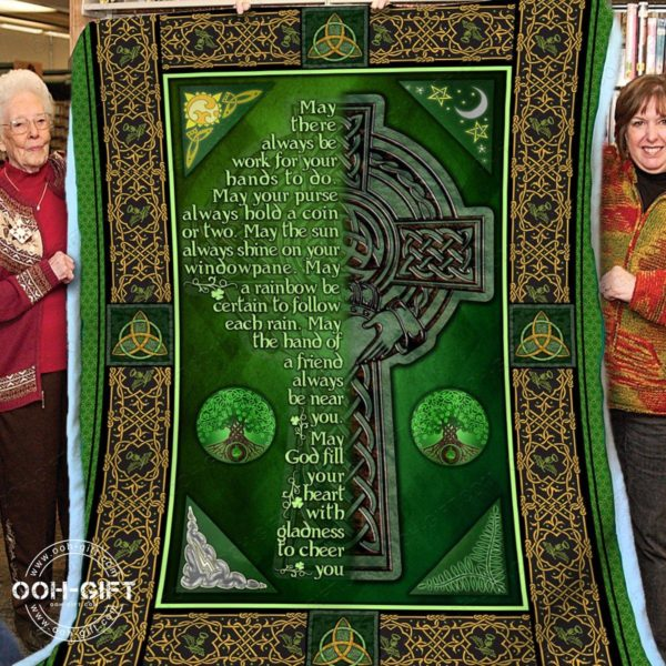 [Top-selling] Religion an irish blessing blanket - maria