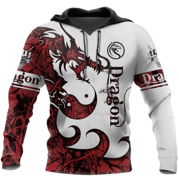 3D Tattoo and Dungeon Dragon Hoodie T Shirt