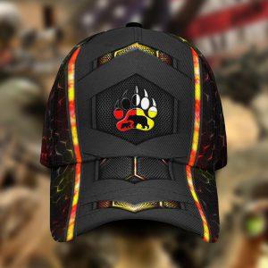 Bear Native American 3D Cap