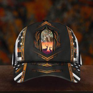 Deer Hunter Camo 3D Cap