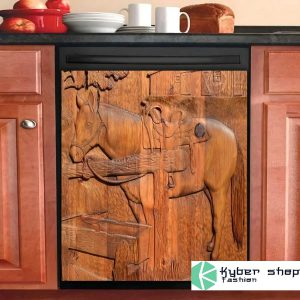 Horse decor kitchen dishwasher
