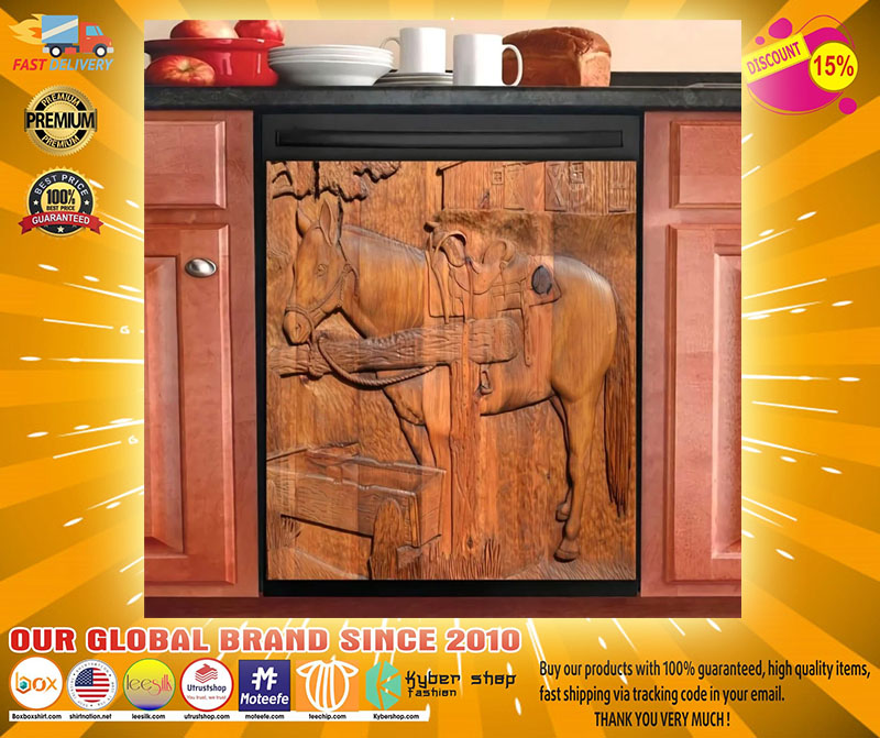 Horse decor kitchen dishwasher - LIMITED EDITION