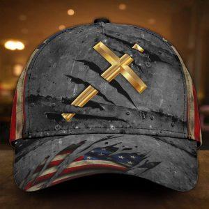 Jesus crack us flag classic cap