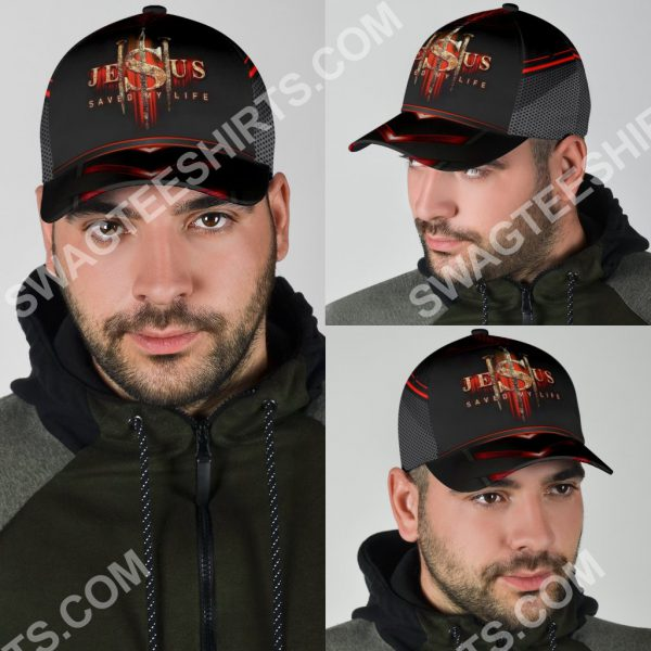[Top-selling] Jesus saved my life all over print classic cap - maria
