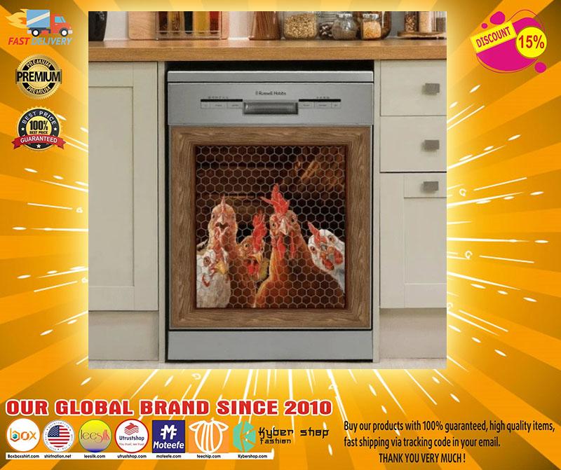 Rooster chicken decor kitchen dishwasher - LIMITED EDITION