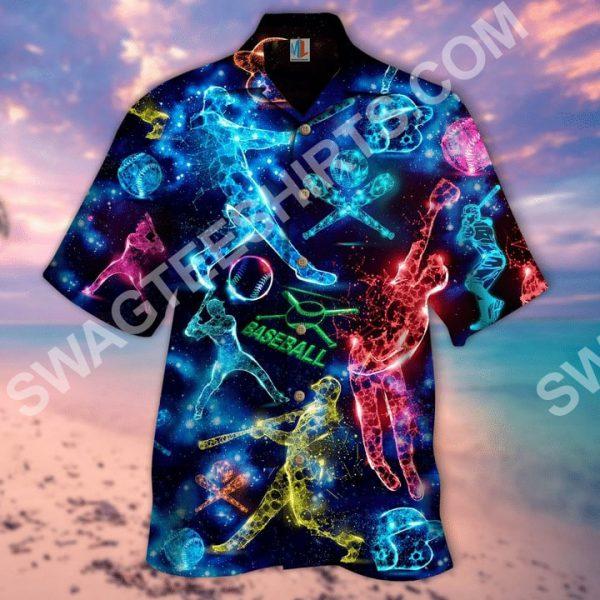 [Top-selling] baseball lover all over printed hawaiian shirt - maria