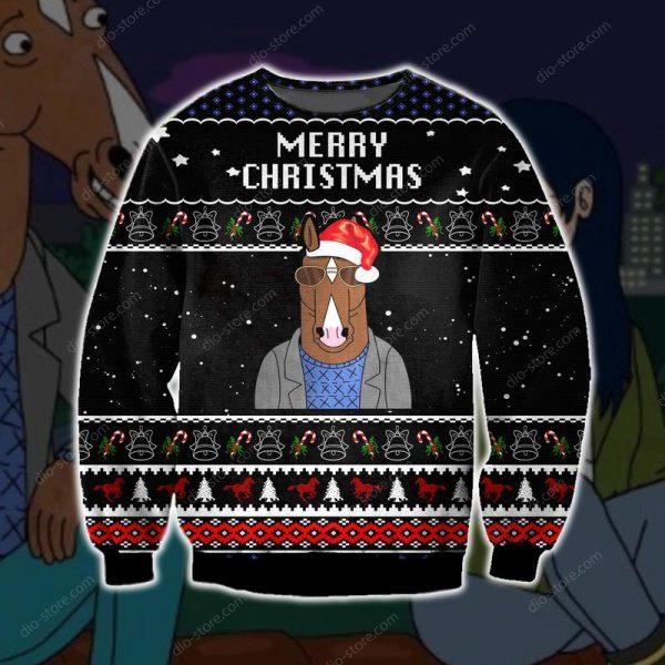[Top-selling] bojack horseman merry christmas ugly christmas sweater - maria