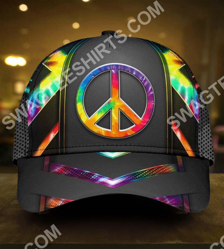 [Top-selling] colorful hippie tie dye all over print classic cap - maria