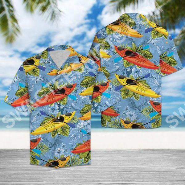 [Top-selling] kayak tropical all over printed hawaiian shirt - maria