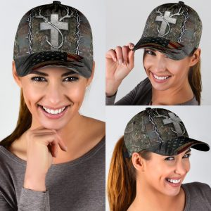 Christian hunting fishing lover cap