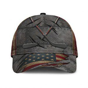 Hockey American flag classic cap