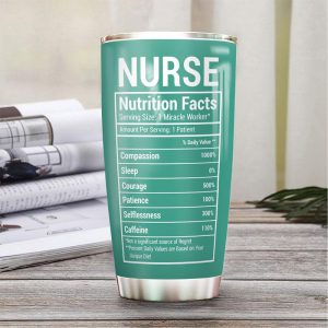 Nurse Fact Personalized Stainless Steel Tumbler - Hothot 280421