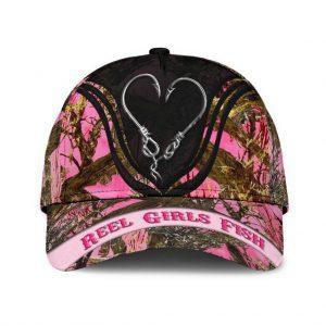 Reel girls fish classic cap