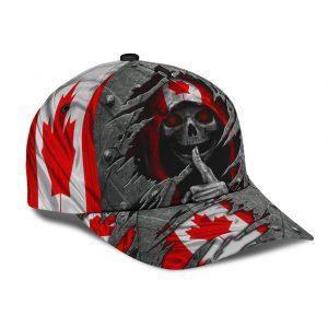 Skull canada flag classic cap - LIMITED EDITION