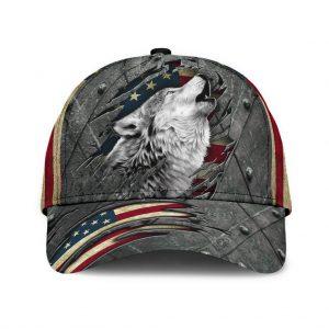 Wofl American flag classic cap