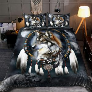 Wolf Native American 3D All Over Printed Bedding Set