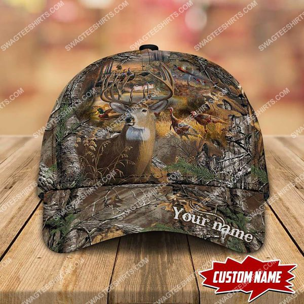 [Top-selling] custom name hunting camo all over printed classic cap - maria