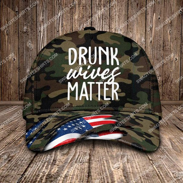 [Top-selling] drunk wives matter all over printed classic cap - maria