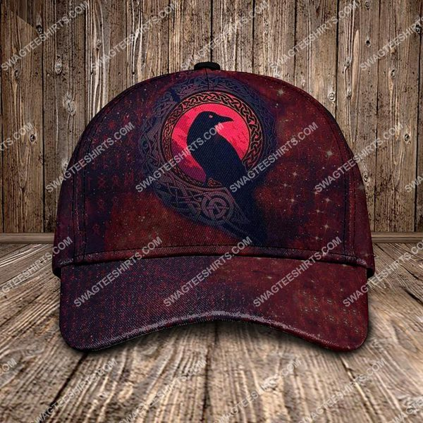 [Top-selling] the raven viking all over printed classic cap - maria