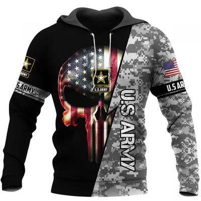 [Top-selling] us army skull american flag camo full over printed shirt - maria