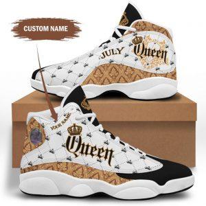 July queen custom name air jordan sneaker