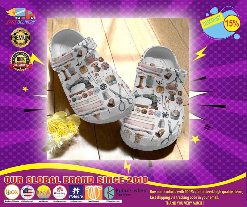 Sewing crocs crocband clog - LIMITED EDITION