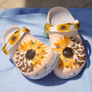Sunflower croc bandcroc