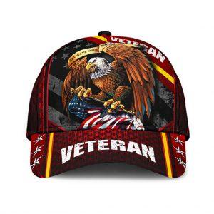 Eagle veteran American capEagle veteran American cap