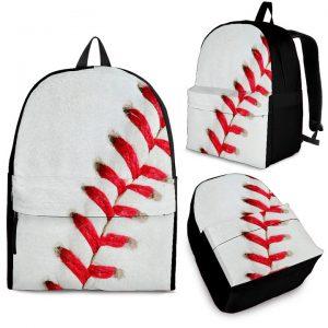Baseball Pattern Backpack