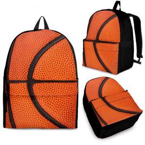 Basketball pattern backpack