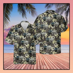British Army Man SV Support Vehicle Hawaiian Shirt - LIMITED EDITION