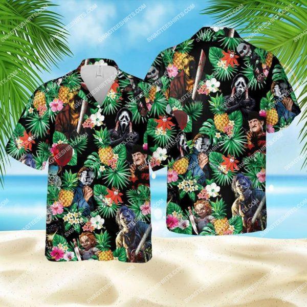 [Top-selling] Horror characters halloween movie hawaiian shirt - maria